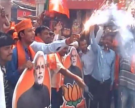 PM-designate Narendra Modi meets the President
