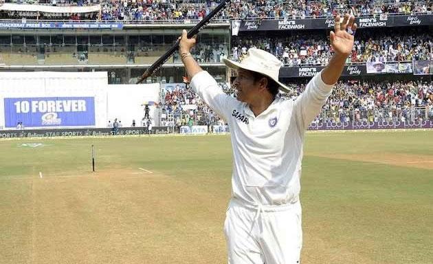 Sachin Tendulkar's journey on field!