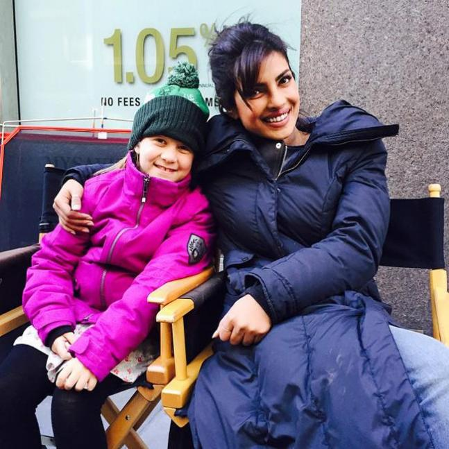 Priyanka Chopra's last day at Quantico in NYC