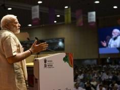 PM Modi Gujarat visit Day 2 International Textile Summit in Gandhinagar inaugurated