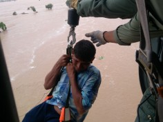 Gujarat floods: Heavy rain disrupts life in Ahmedabad