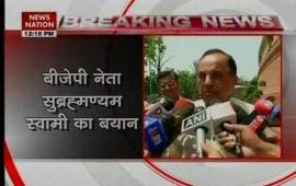 Subramanian Swamy takes a dig at RBI governor Raghuram Rajan