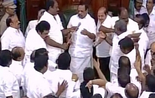 Speed News: Speaker orders assembly marshals to evict DMK MLAs following violent protests in House