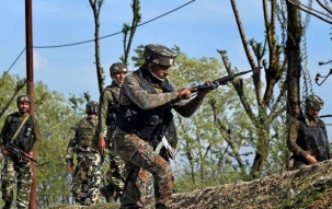 3 terrorists apparently Pakistanis have been neutralized by Joint team of J&K Police, RR & CRPF