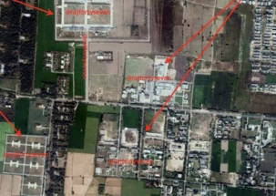 Satellite images show Pakistan's tactical nuclear weapons which can be used against India
