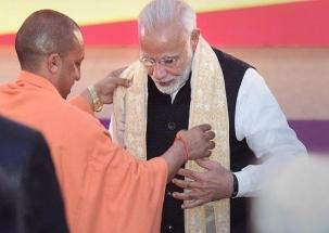 Yogi Adityanath meets PM Modi amid complaints of discrimination by Dalit MPs