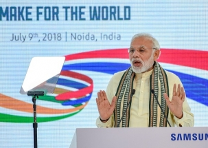 India becomes world's 2nd largest phone maker on Make-in-India initiative: PM Modi