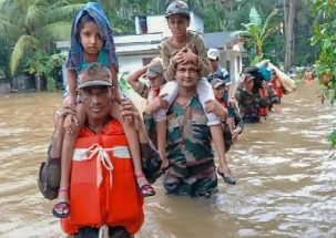 Kerala Floods: Children donate for relief fund