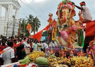 Ganesh Chaturthi celebrations begin in Mumbai